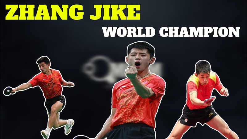 The Reason Why Zhang Jike Is The World Champion Relentless Topspin Training
