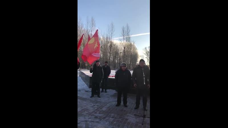 Выступление на митинге в Казани 14.12.19