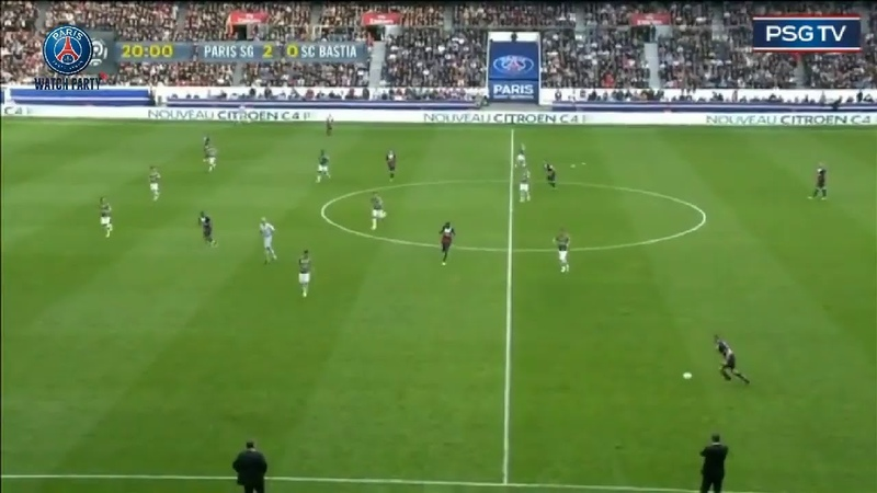 📺PSGWatchParty : Paris Saint-Germain 🆚 SC Bastia - 19/10/2013
