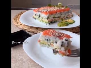 Вкуснейший суши-салат