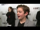 Noah Jupe is wowed by director John Krasinski