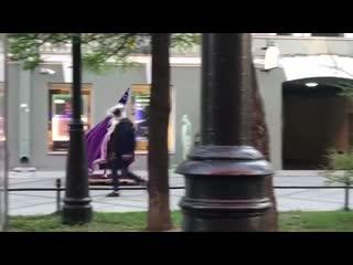 Волшебник на ковре-самолёте. Васильевский остров