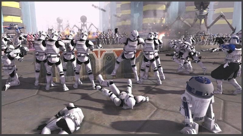 КАК В МУЛЬТИКЕ - БИТВА ЗА КРИСТОФСИС! ► Men of War Star Wars Mod Battle Simulator