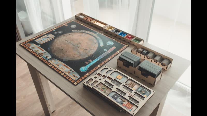 Органайзер для настольной игры Terraforming Mars («Покорение Марса»)
