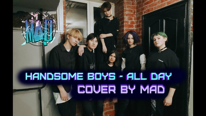 COVER DANCE HANDSOME BOYS ALL DAY Show The Unit yellow team by MAD cdt