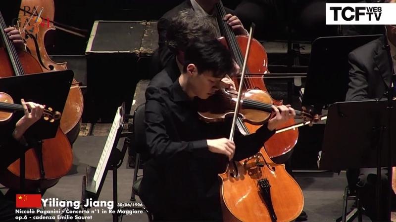 55-й Конкурс скрипачей имени Паганини. Финал: Yiliang Jiang - Paganini ''Concerto n.1'' (Генуя, 2018)