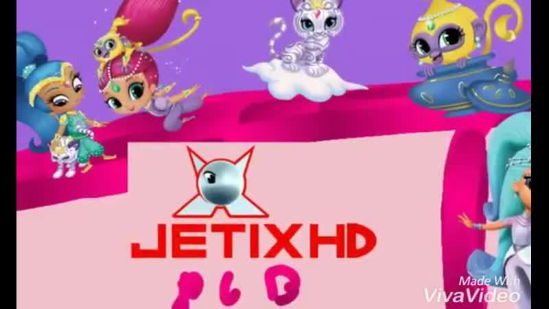 Jetix Ident Reclame Shimmer Shine