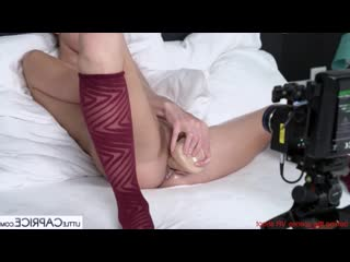 Gina Gerson, Little Caprice - Pornlifestyle VR Behind the Scenes with Gina Gerson [bts, oiled, masturbation, dildo, interview]