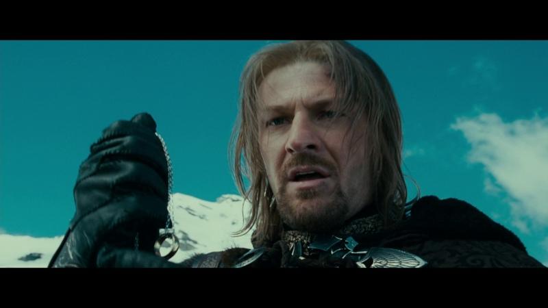 Боромир возвращает кольцо Фродо