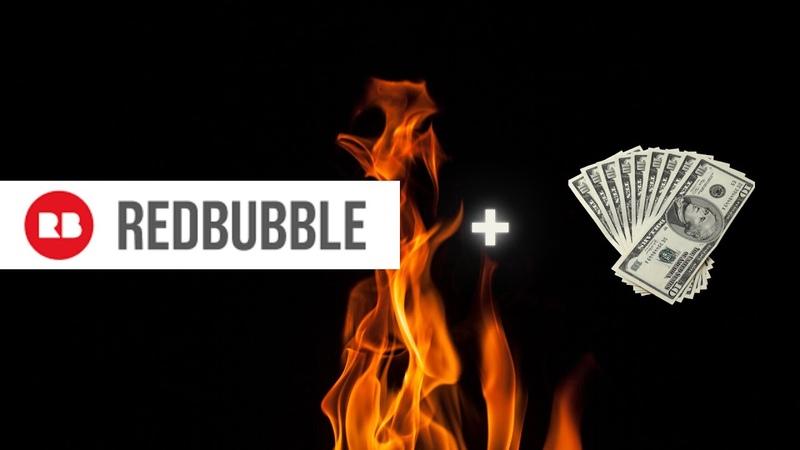 REDBUBBLE dasturi orqali kuniga kuniga 10$ dan 30 $ gacha internetda pul ishlash