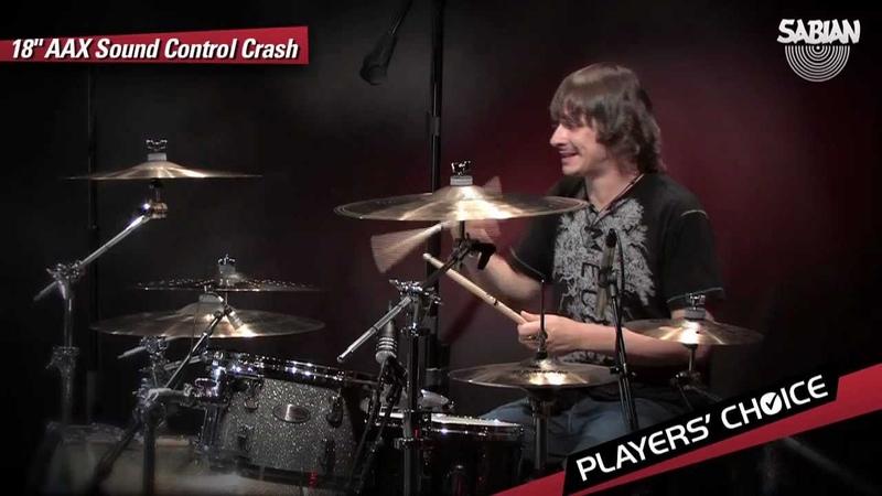 SABIAN Players' Choice Ray Luzier Demos the 18 AAX Sound Control Crash