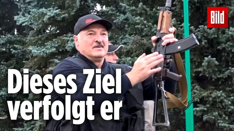 Warum Lukaschenko derzeit sicher im Amt ist obwohl Hunderttausende demonstrieren Belarus