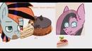 Меме/ пони прикол Как Мармелад кушает Торт 3