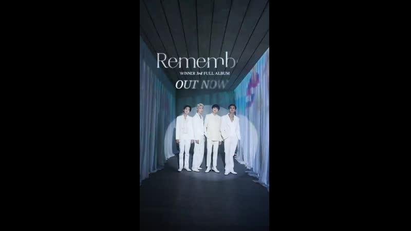 WINNER3rd FULL ALBUM [Remember]