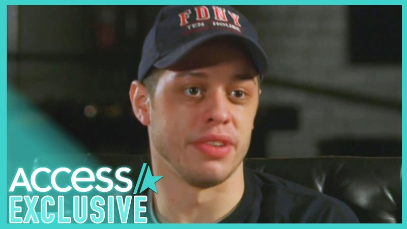 Pete Davidson Returns To Firehouse After His Dad's 9 11 Passing EXCLUSIVE