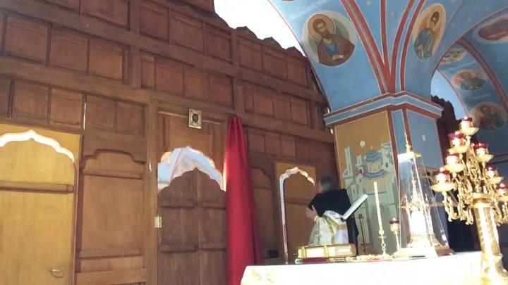 Божественная литургия Вознесение Господне Пронский монастырь Игумен Лука