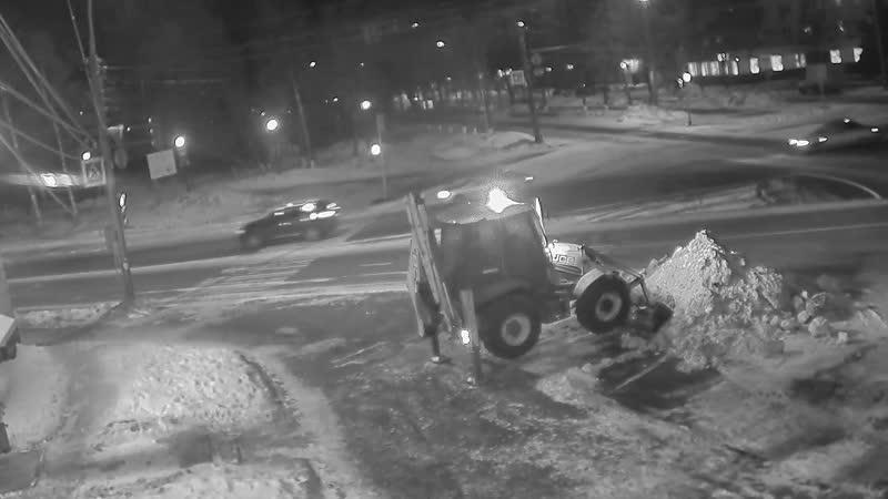 Уборка снега по-ярославски 22.02.2019