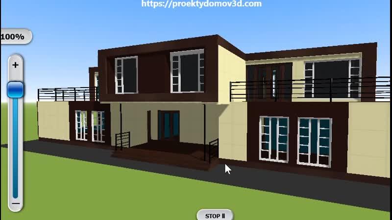План постройки большого бюджетного дома из морских контейнеров