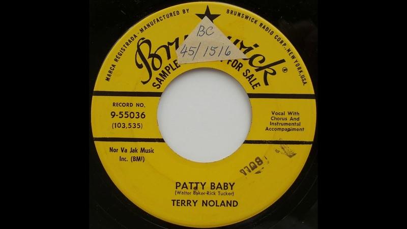 BRUNSWICK 9-55036 DJ ~ Terry Noland - Patty Baby ... '57 RnR