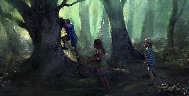 Туки-туки за себя Однажды в детстве я исчез. Стал невидимым для окружающих. Не было ни заклинаний, ни джинов, ни тёмной магии, просто я очень сильно этого захотел. Настолько сильно, насколько