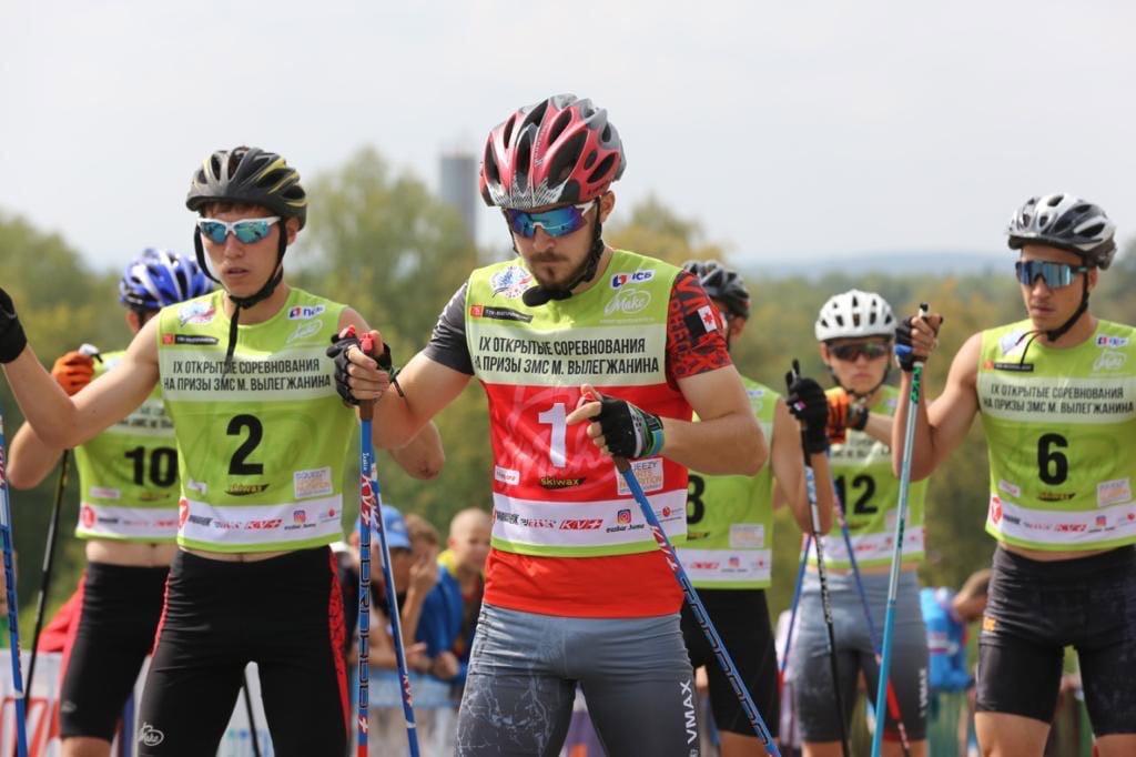 Золото!Лыжники из Можги Лилия Васильева и Владислав