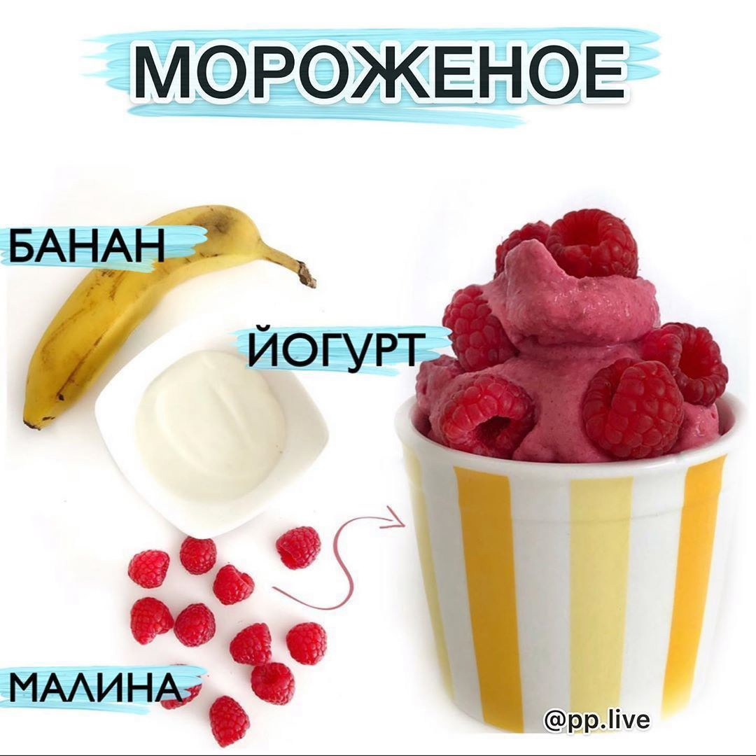 Малиновое мороженое