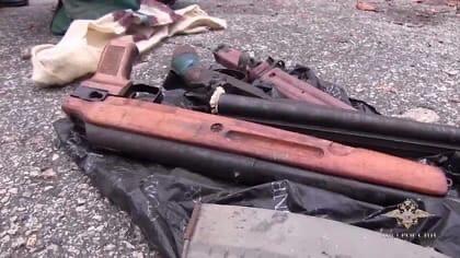 В Самаре полицейские обнаружили оружейный схрон. Н...