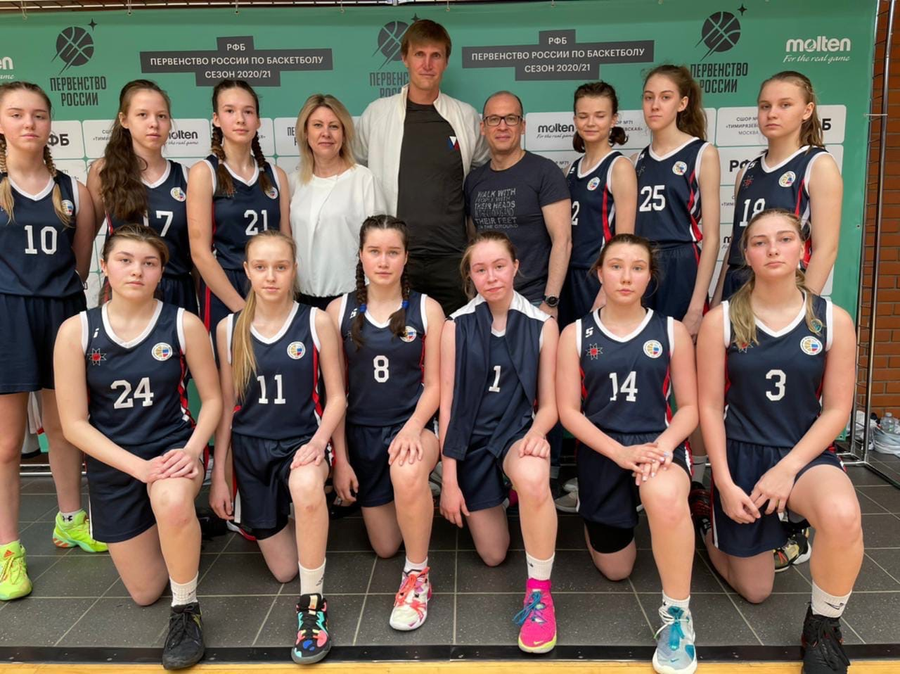 Баскетбольная команда девушек «Виктория» выиграла у сверстниц