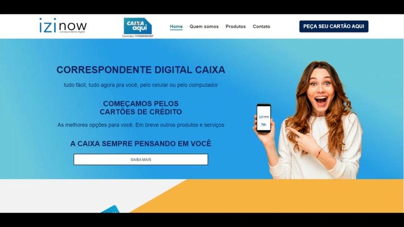 CORRESPONDENTE DIGITAL CAIXA agora você pode solicitar pelo Site COMEÇAMOS PELOS CARTÕES DE CRÉDITO