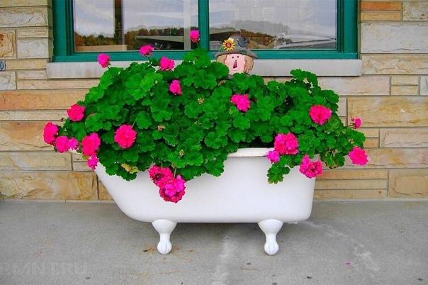 Что можно сделать из старой ванны