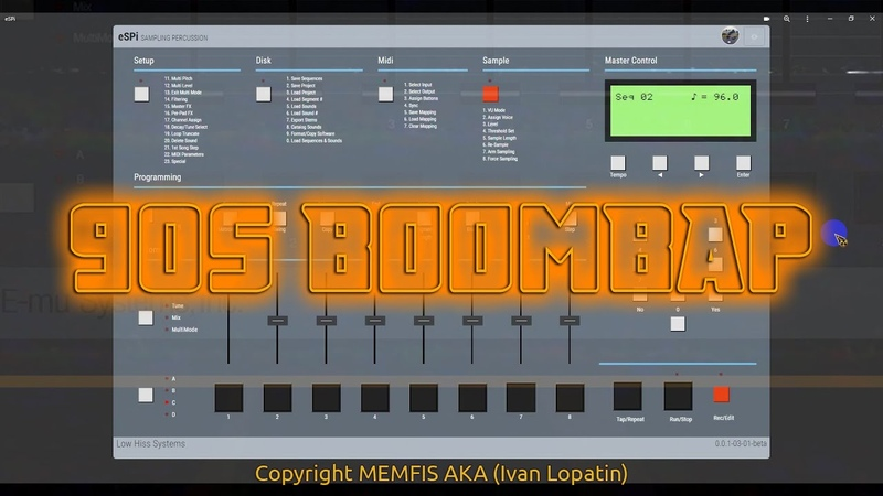 ESPi AKA SP 1200 software Boombap Frustration by Funky RecordZ