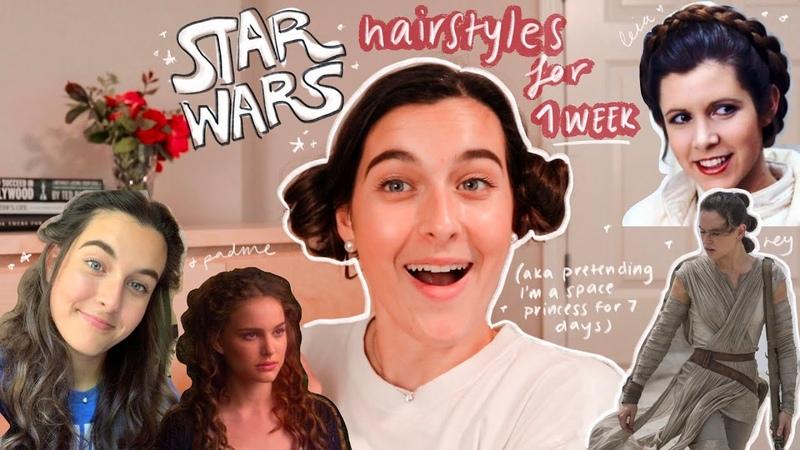 Recreating star wars hair for a week!