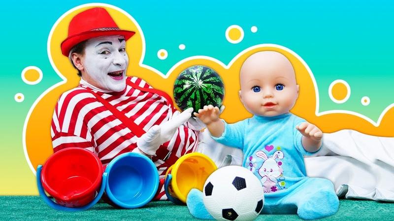 Compilation de vidéos avec Baby Annabell et le mime Jouets pour enfants