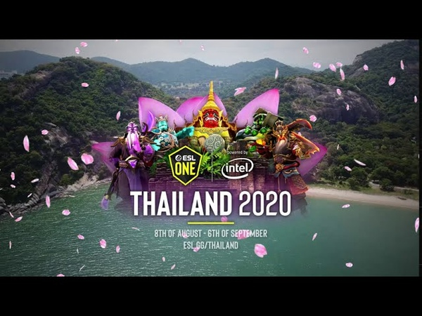 ESL One Thailand 2020 powered by Intel Official Trailer