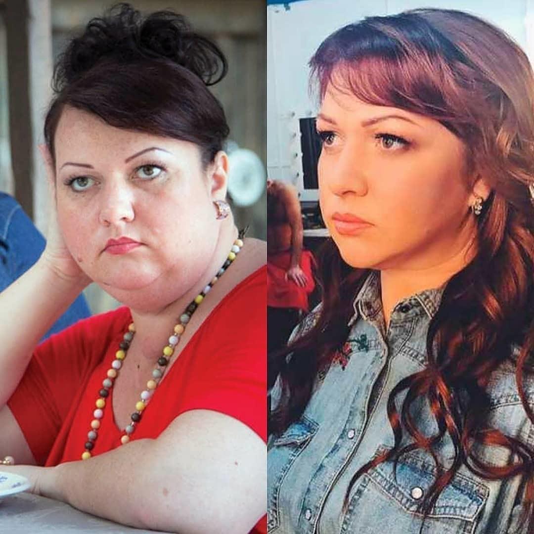 Похудевшая на 54 килограмма Ольга Картункова