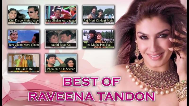 Best Of Raveena Tandon _ 90s Superhit Hindi Songs