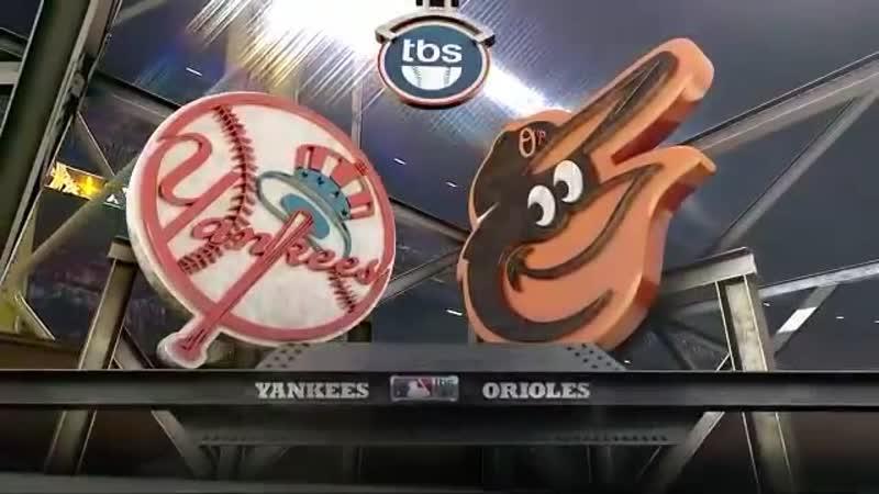 Постсезонье 2012 ALDS Балтимор Ориолс Нью Йорк Янкиз 2 й матч серии