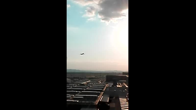 Взлет Боинг 747 в Вене VID 20200725 192455