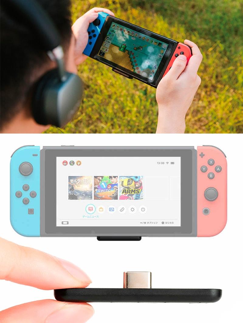 Bluetooth переходник для Nintendo Switch -