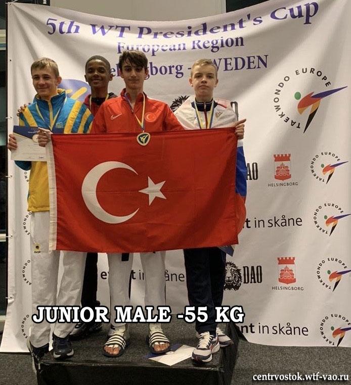 Juniors-Male-55kg