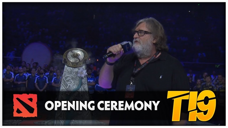 Dota 2 TI9 Opening Ceremony
