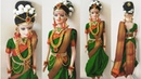 How to Decorate Bridal Doll/DIY Marathi Bridal Doll Decoration/Indian Bridal Doll in Saree