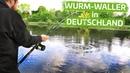 Mit Wurm auf Wels Step by Step Fluss 3