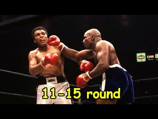 Muhammad Ali vs Earnie Shavers Fight legends 11 15 round
