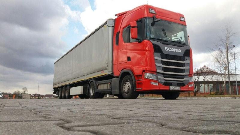 $375 ScaniaS500 Чудеса продолжаются и на выгрузке Но к сожалению недолго