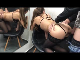Трахает молодую студентку в чулках (Секс Порно Домашнее Орал Минет Анал Жесткое Фитоняшка)