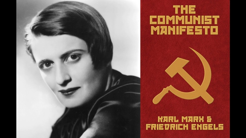 Ayn Rand reads The Communist Manifesto Speech Synthesis