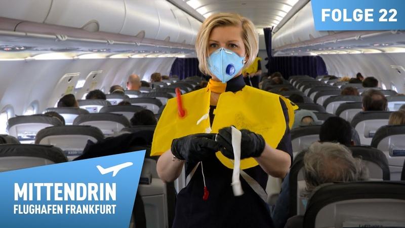 Fliegen in Corona Zeiten Mittendrin Extra Flughafen Frankfurt 22