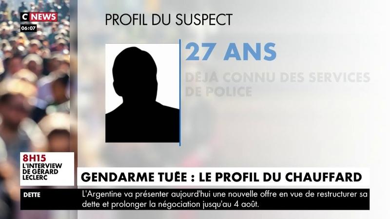 Gendarme tuée le profil du chauffard