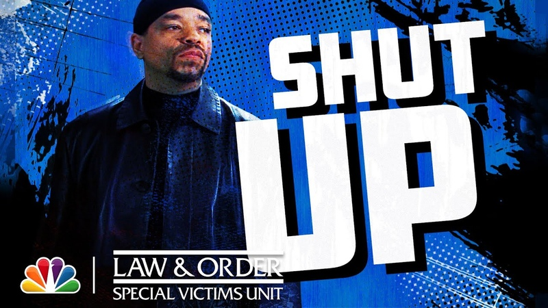 Every Time Fin Says Shut Up - Law Order SVU